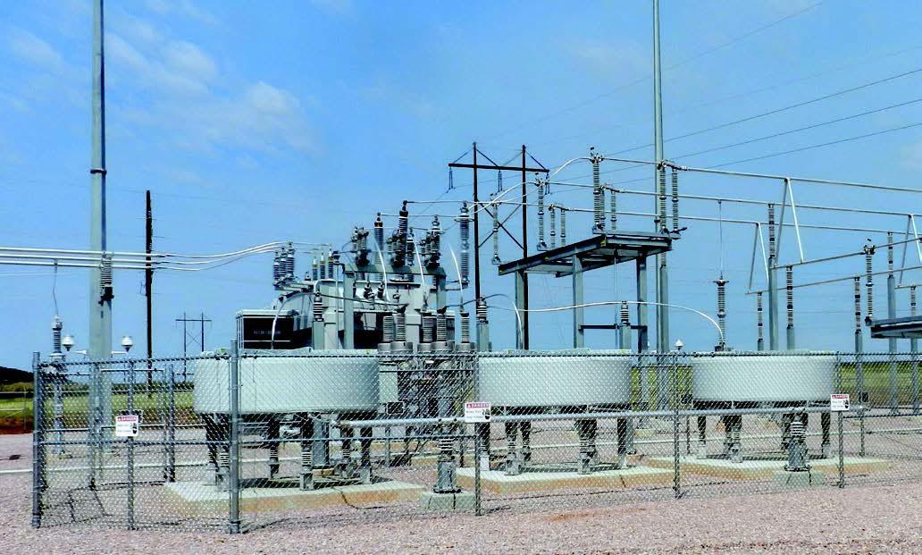 Electric substation for Black Hills Power in South Dakota