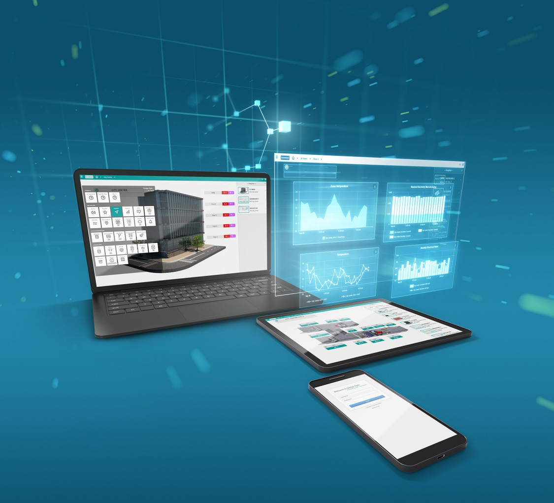 Desigo Optic building automation software is accessible on desktop and mobile, and provides enhanced integration across numerous third-party systems.