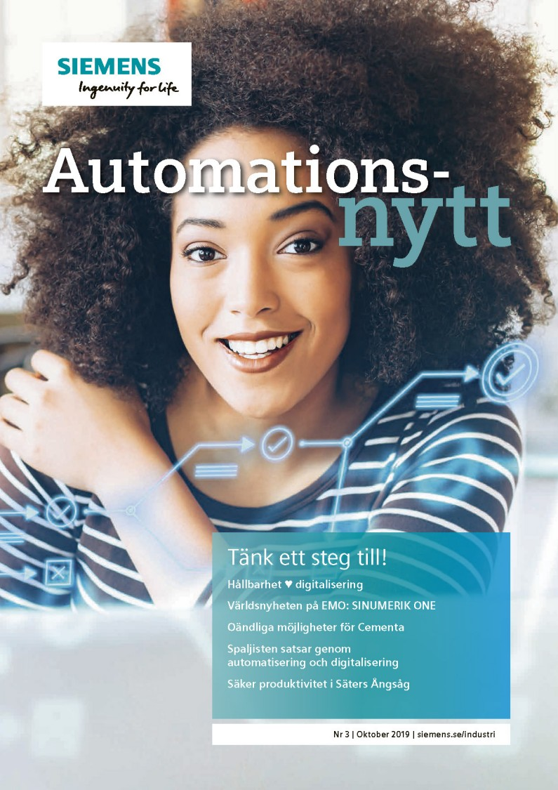 Automationsnytt Nr 3 | Oktober 2019