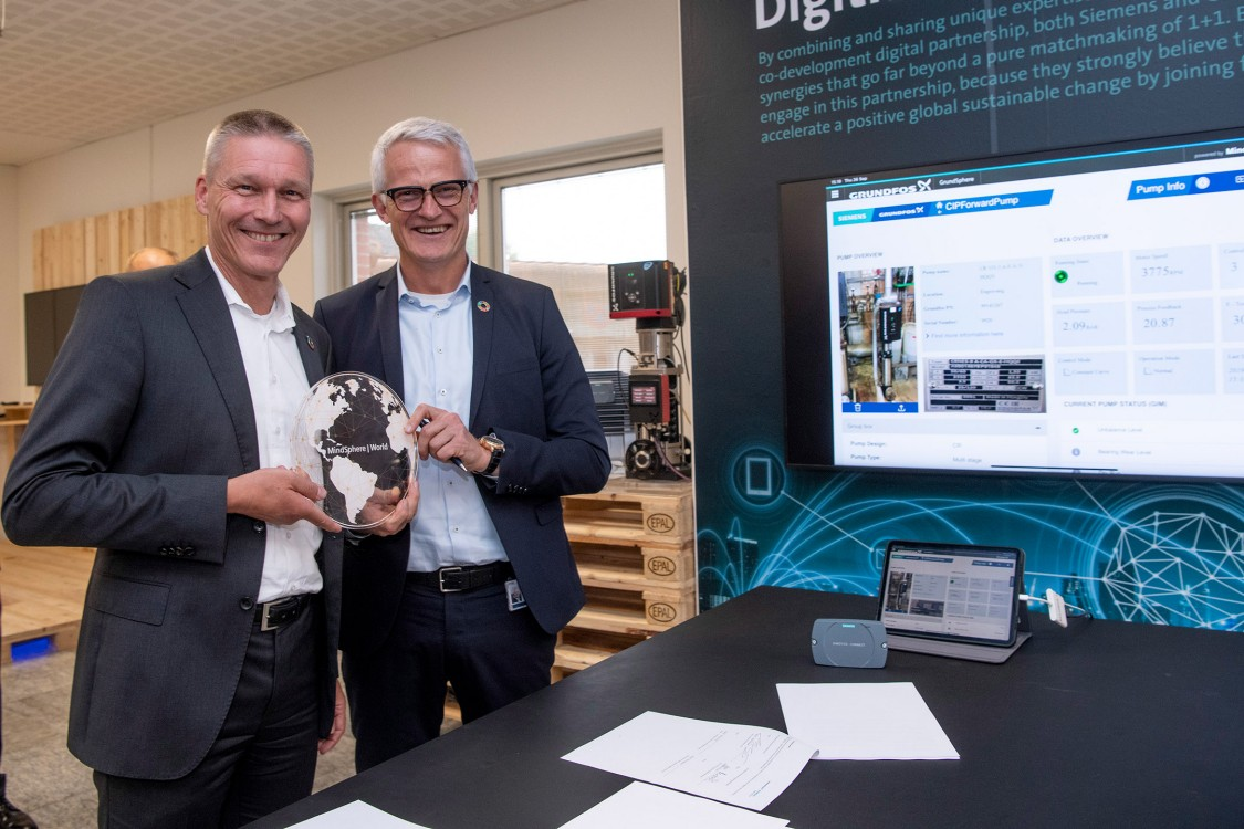 Siemens and Grundfos sign digital partnership