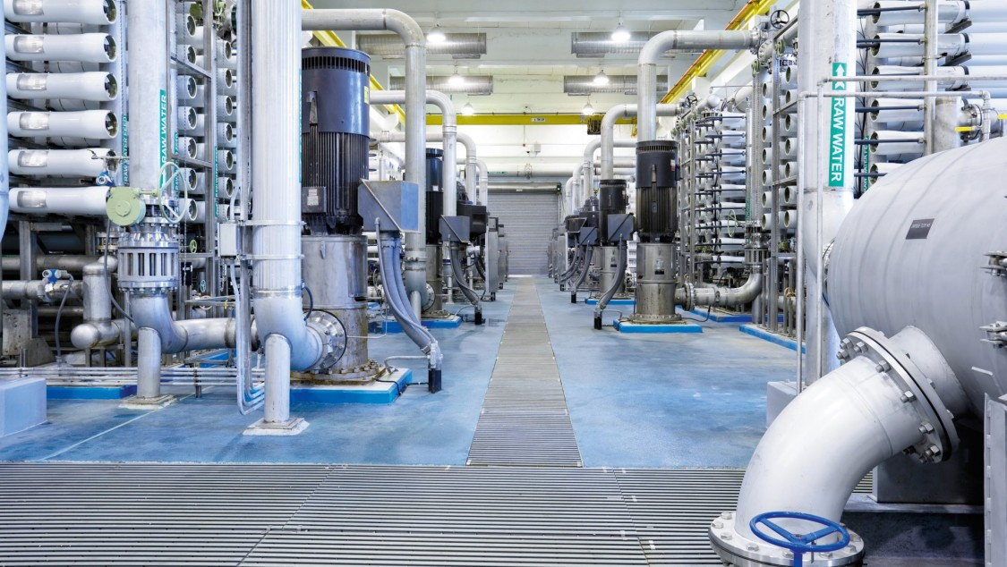 Lösungen für die Entsalzung von Meerwasser