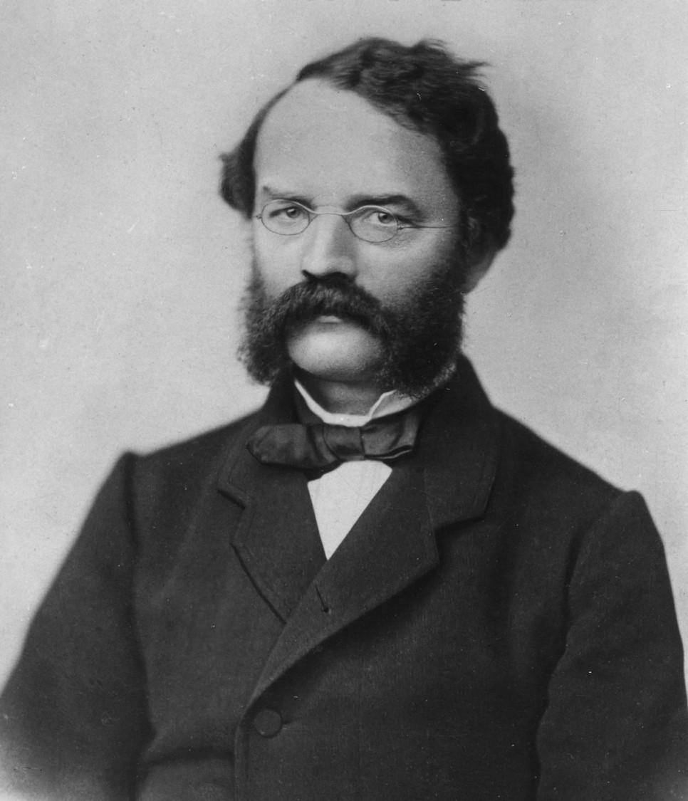 In search of new sales markets – company founder Werner von Siemens, 1864