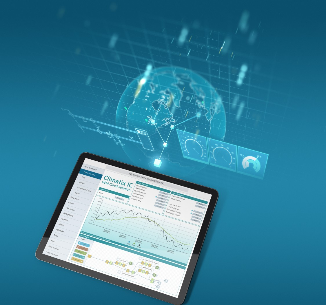 Remote monitoring and intelligent diagnostics with Climatix IC