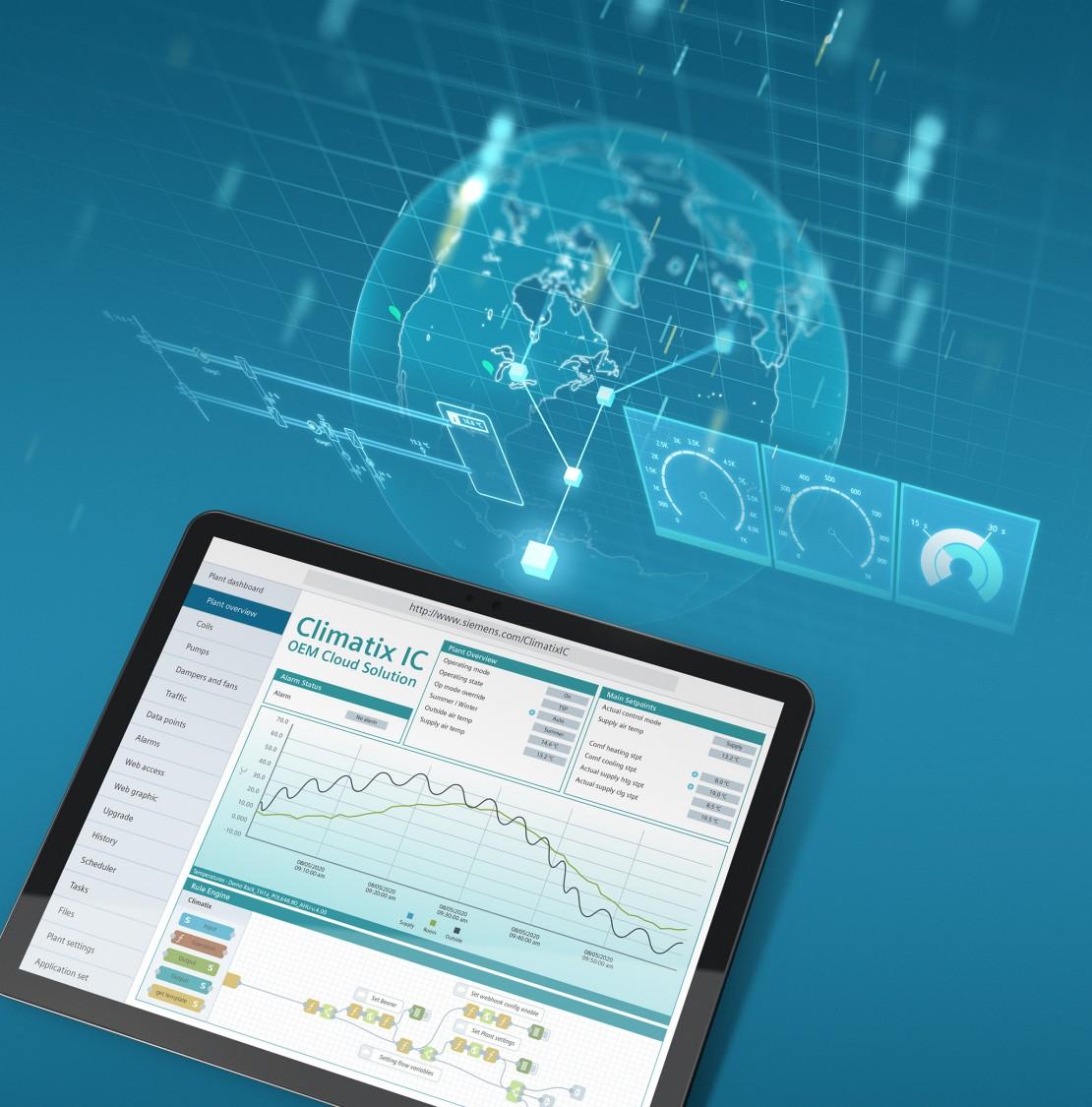 OEM web-based remote services; HVAC, HRV; AHU