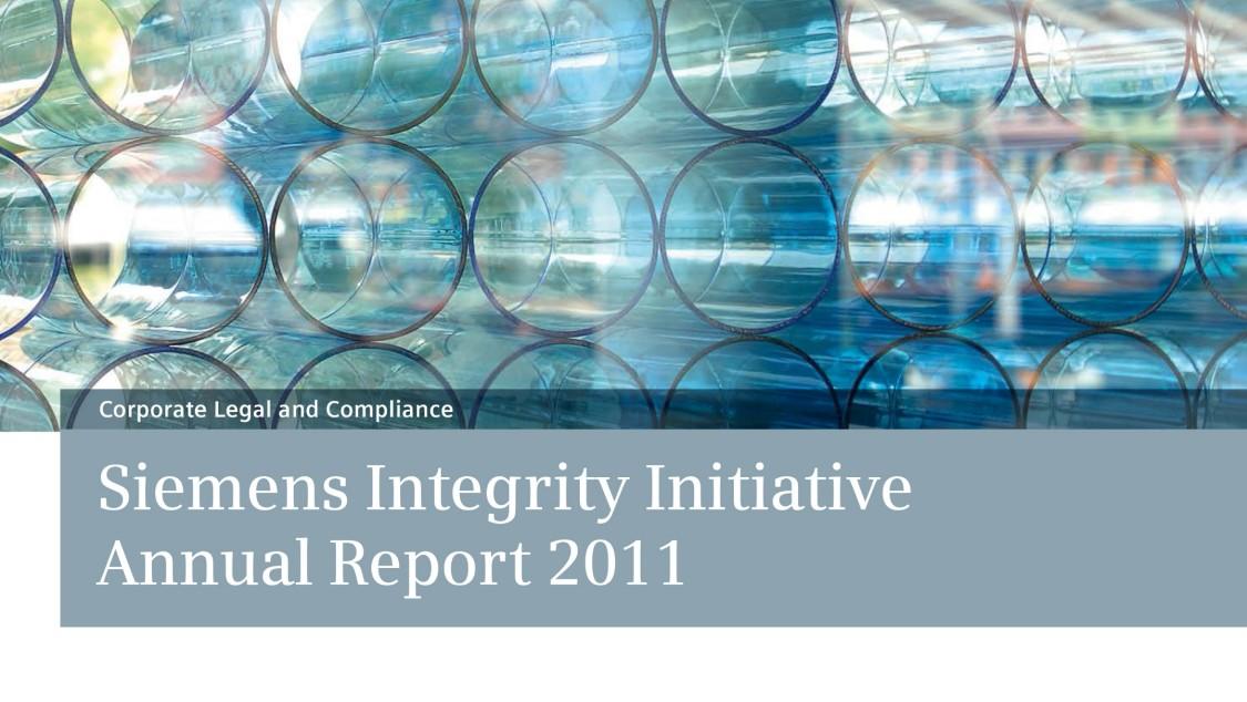 Siemens Integrity Report 2011