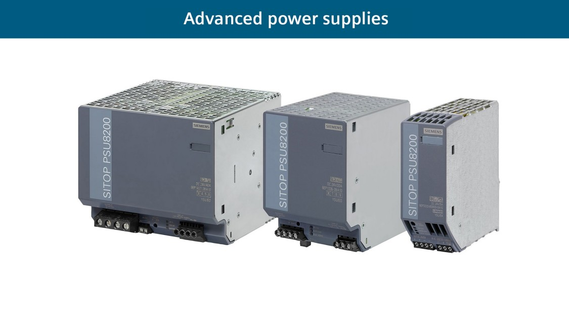 Advanced power supplies SITOP PSU8200