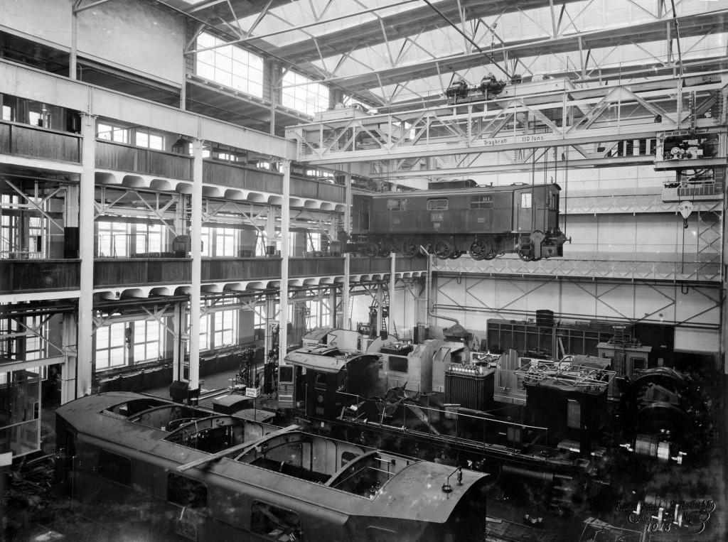 Dynamowerk Berlin around 1913