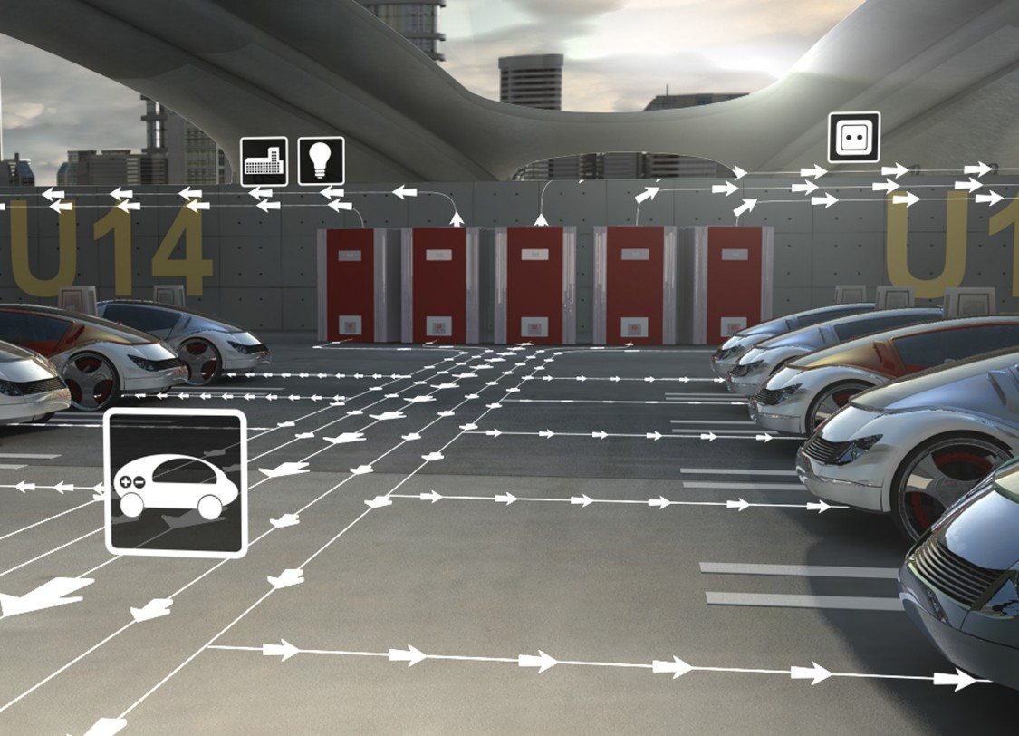 infrastructure for EV chargers