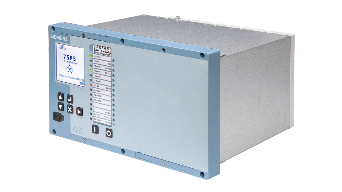 Transformer differential protection – Reyrolle 7SR54