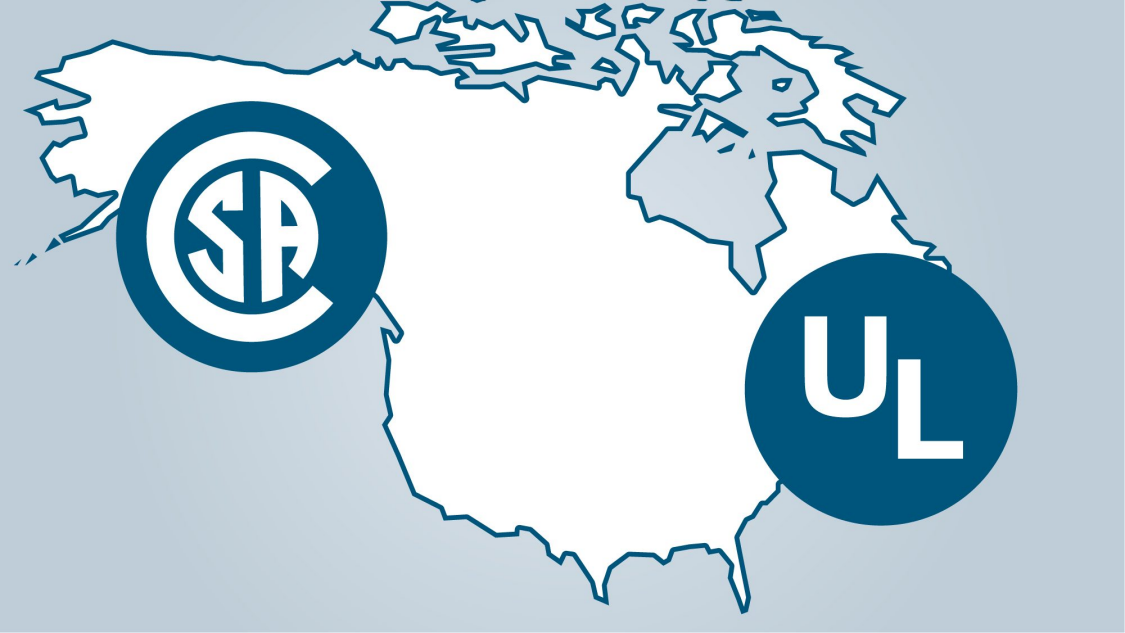 Map of Northamerica with UL-logo