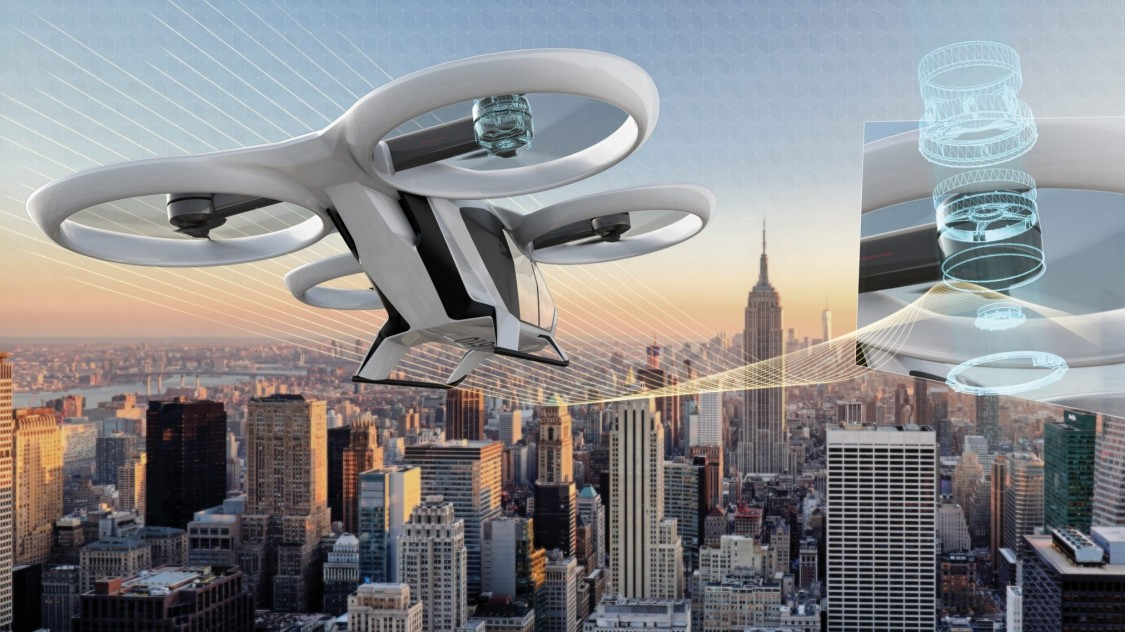 CityAirbus- the Air Taxi
