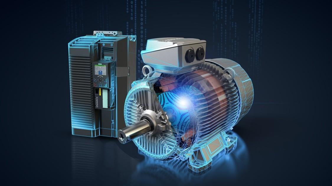 Siemens'ten senkronize relüktans motorları