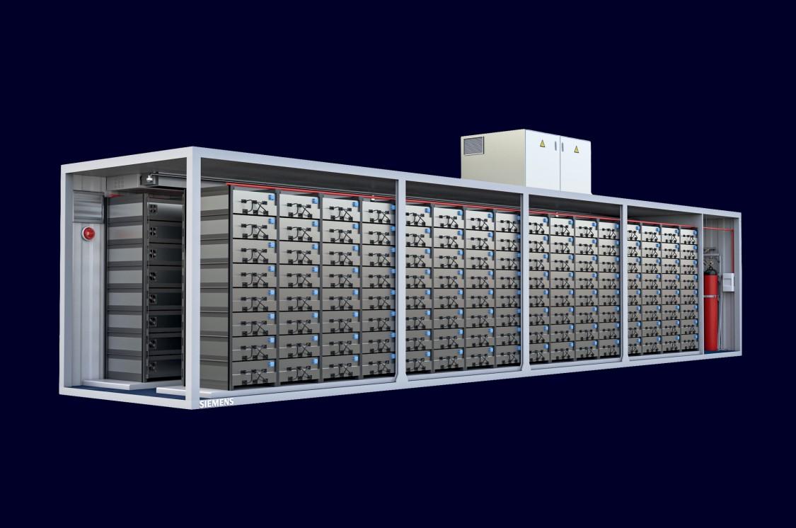 siemens brandbeveiliging li-ion batterij energieopslag bescherming
