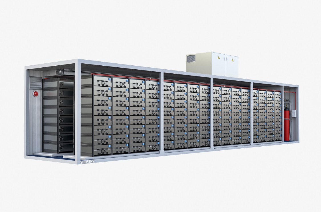 siemens fire safety li-ion battery energy storage protection