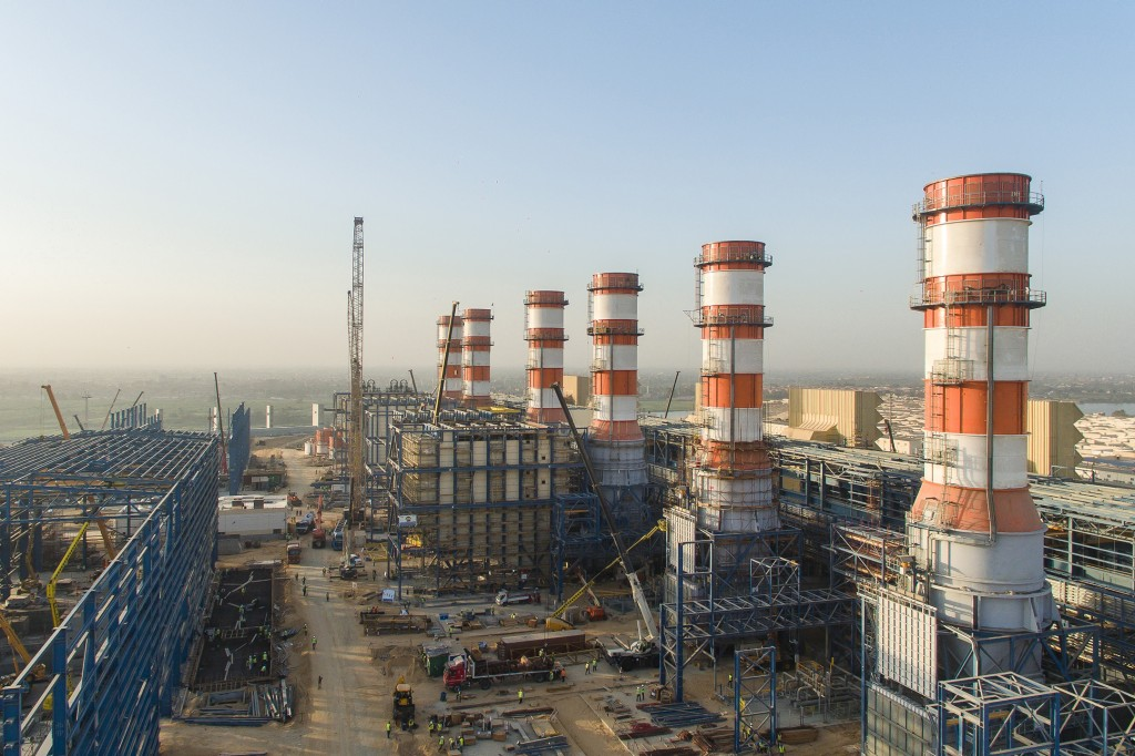 Gas-fired combined cycle power plants