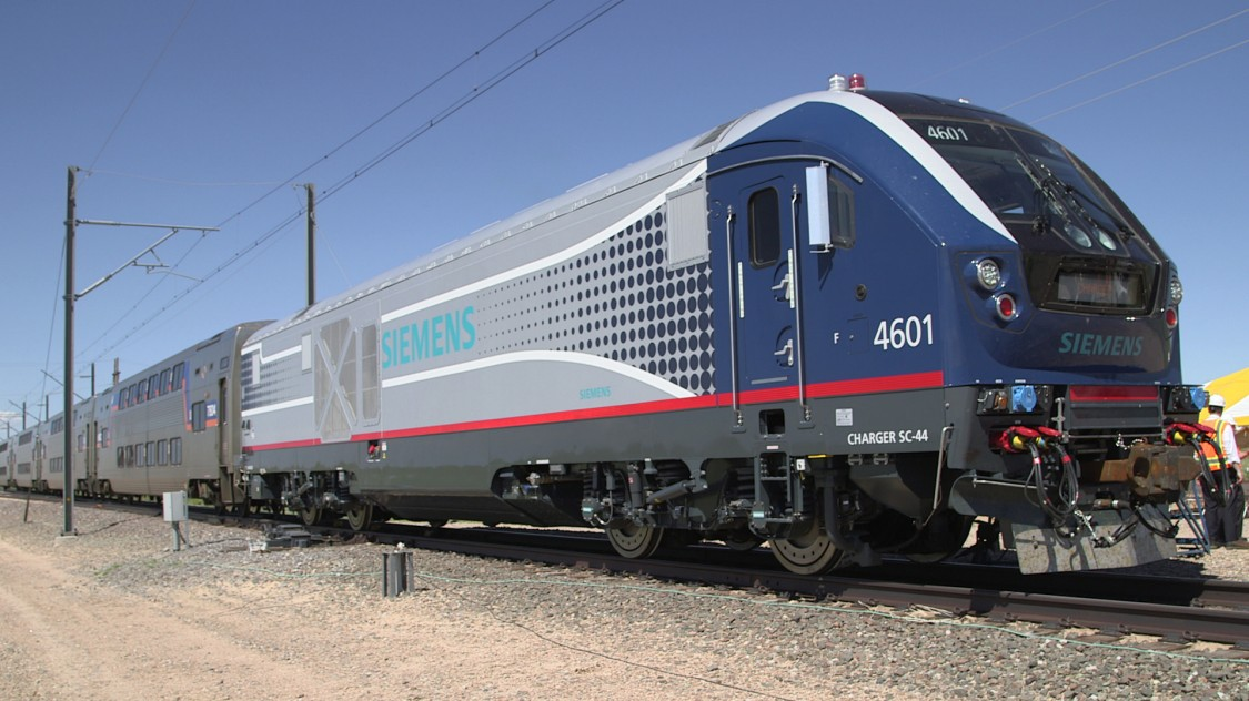 Siemens Delivers first locomotives for MARC and SEPTA