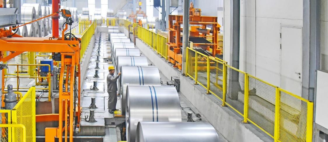 河钢唐钢高强汽车板生产线