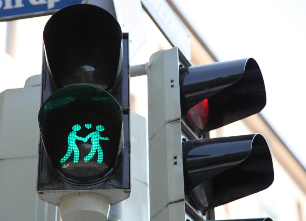 Green light for Munich's crossing signal couples