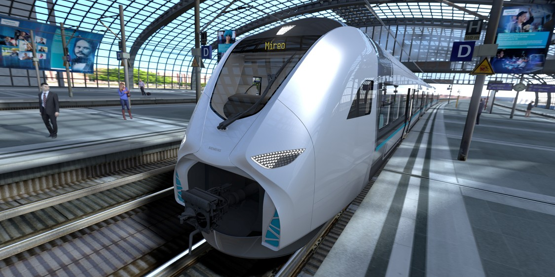 Mireo: the new regional and commuter train platform from Siemens: