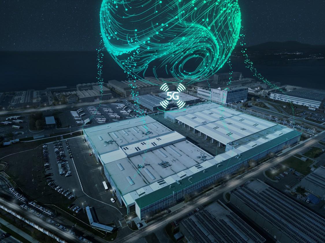 Основне зображення: технологія 5G в промисловості від Siemens