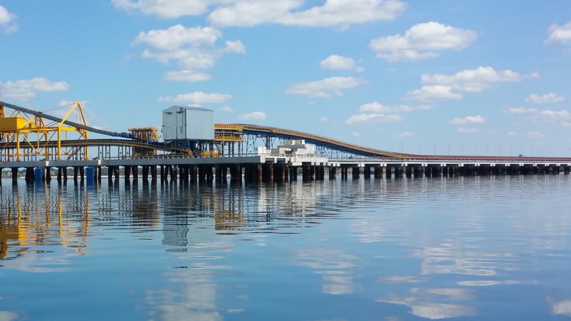 Nacala kömür terminalinin limanı