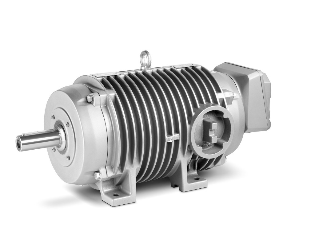 High-performance Simotics DP roller table motor for extreme conditions