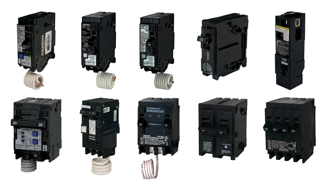 Circuit breaker family of products from Siemens