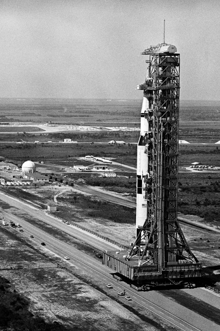 NASA picture of Saturn V