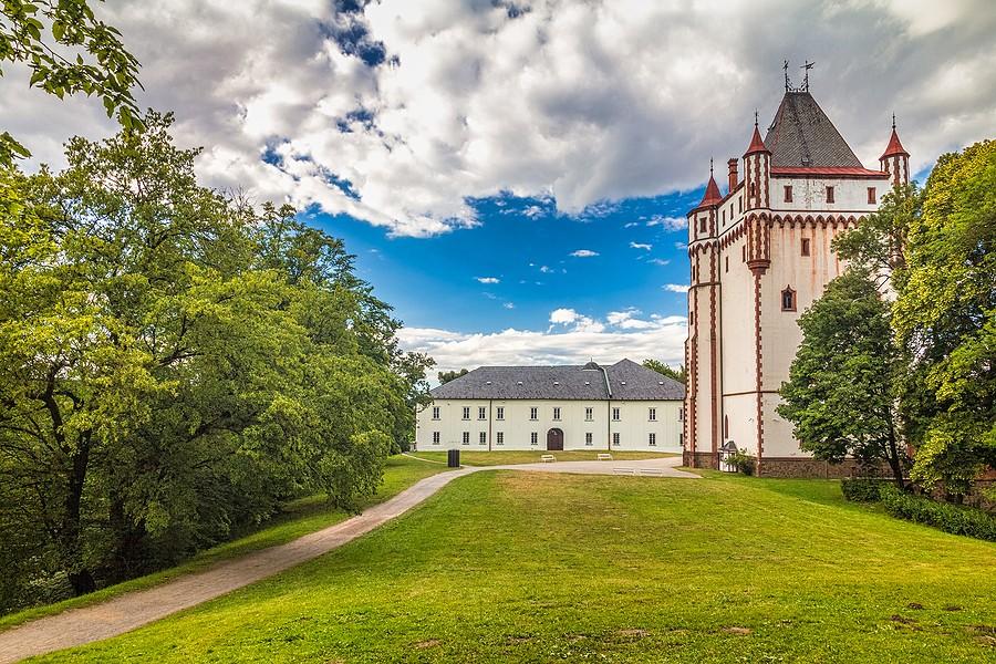Zámek Hradec nad Moravicí reference Siemens