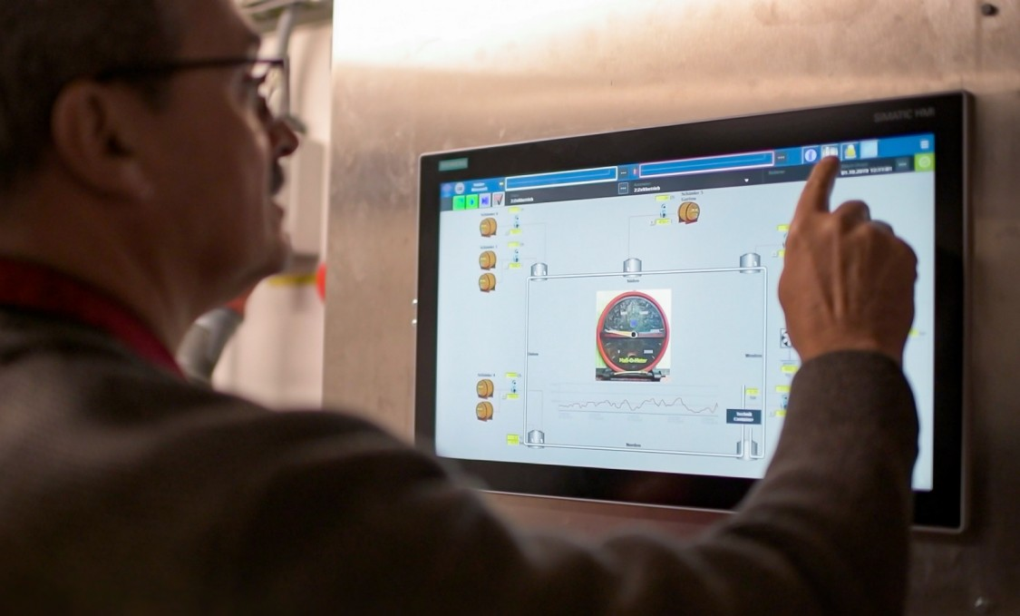 Data helps Paulaner add the right amount of beer to fill up the tanks