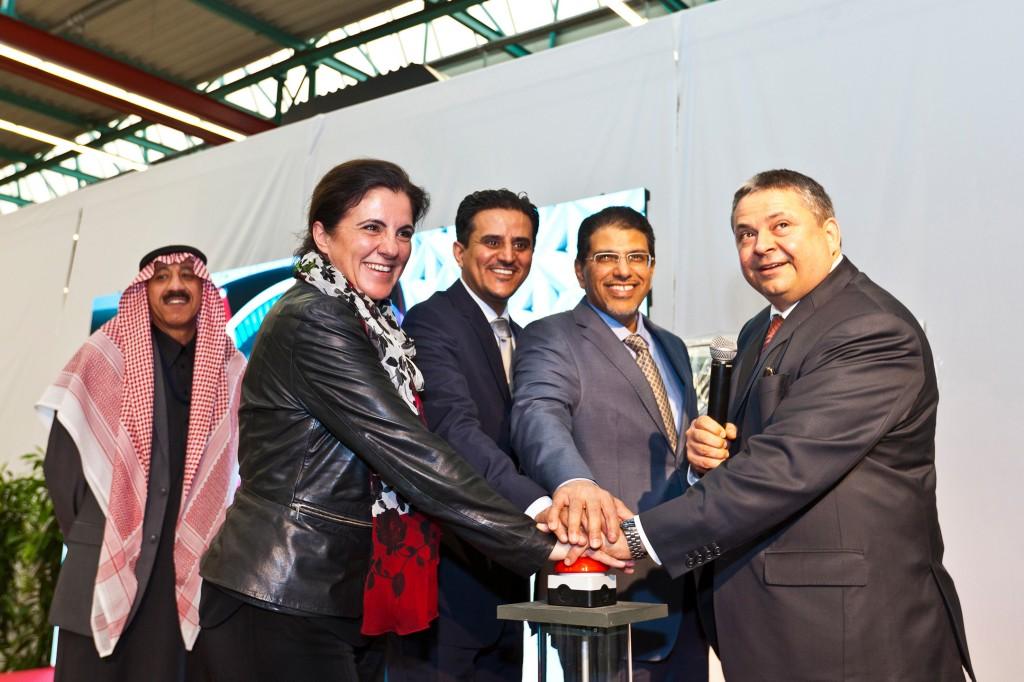 Siemens präsentiert neue Metro für Riad