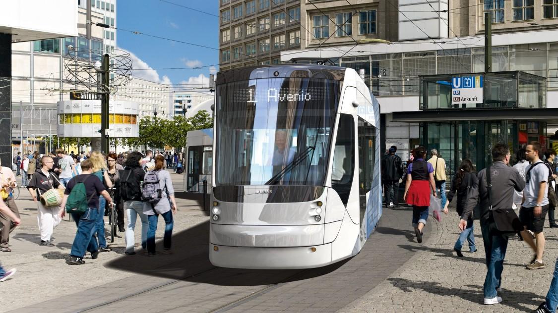 Avenio LF: Low-floor trams