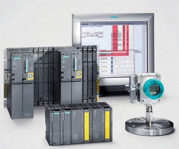 Picture of Siemens burner management system