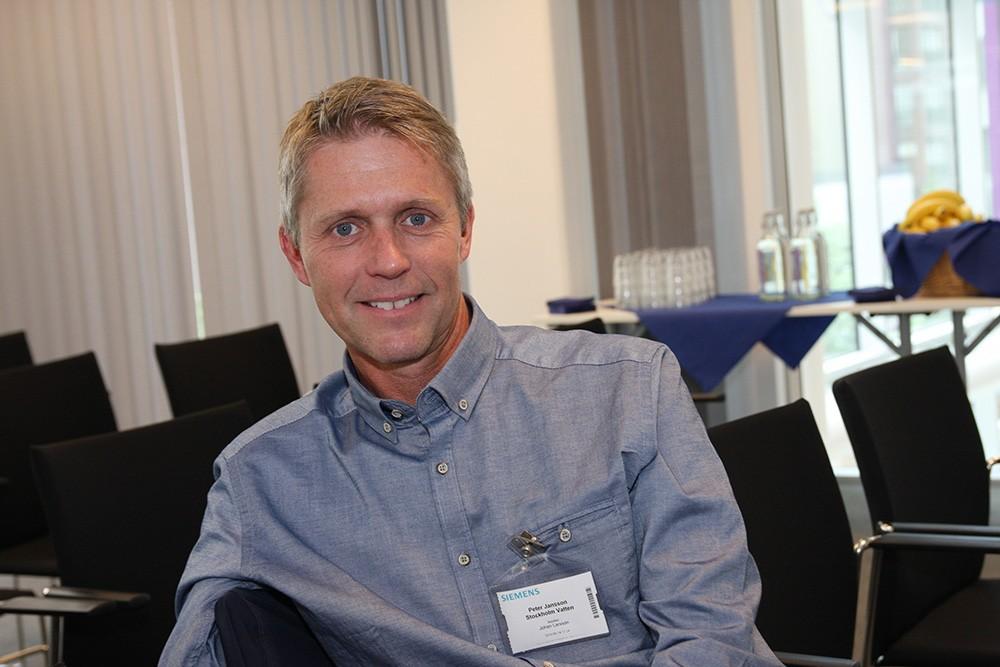 Peter Jansson är processledare för teknisk information för avloppsreningen på Stockholm Vatten och Avfall som realiserar den digitala processanläggningen med Comos.