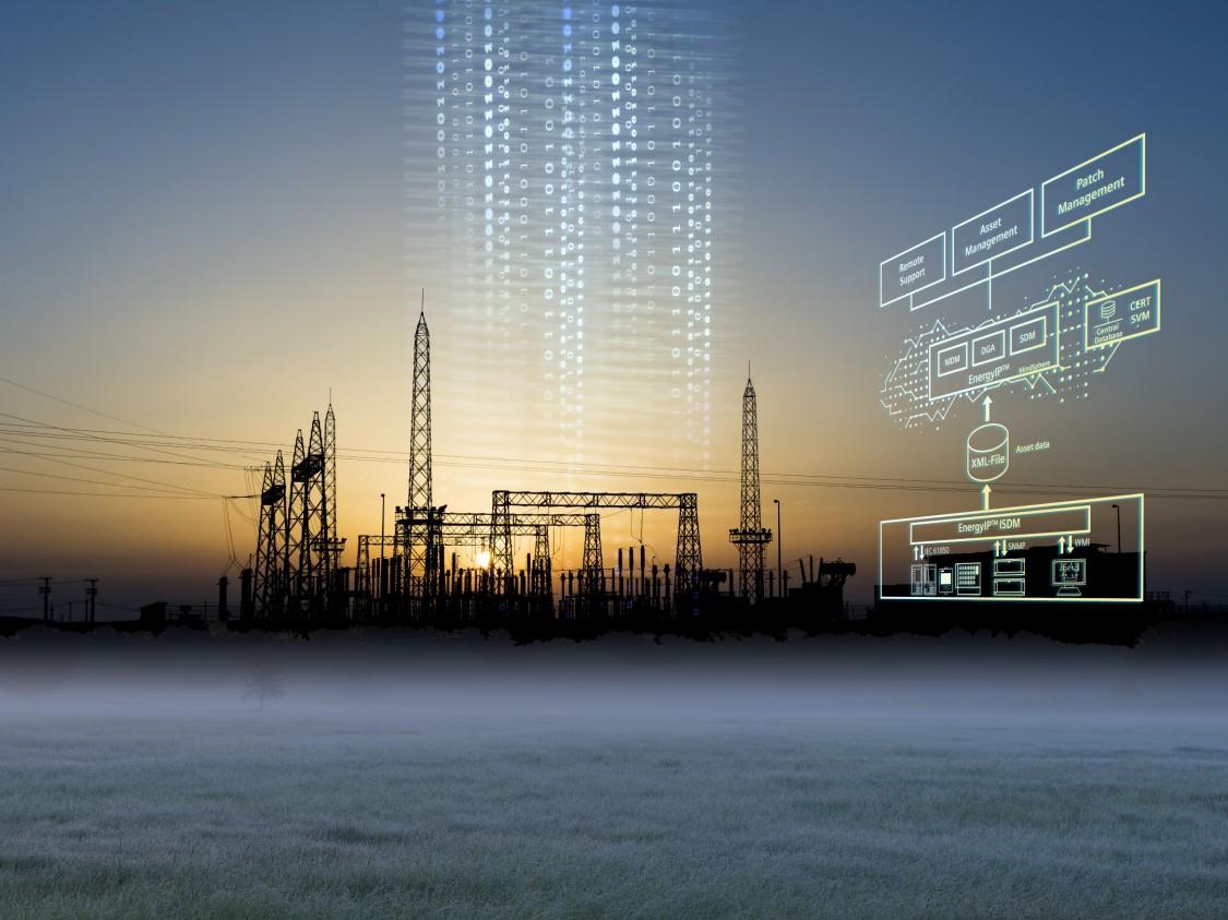 SICAM substation device management