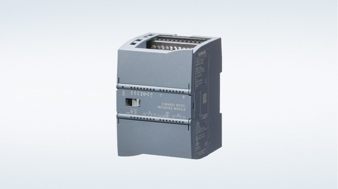 WP251 Weighing Module - Siemens USA
