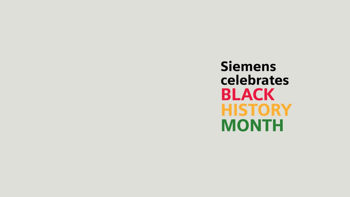 Black History Month at Siemens: Lifting up the lives and voices of Black employees