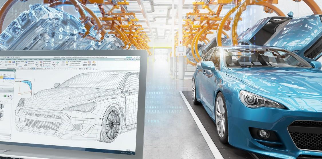 Automatizovaná výroba v digitalizovaném automobilovém průmyslu