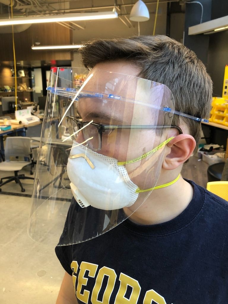 Georgia Tech University and Siemens Facemasks