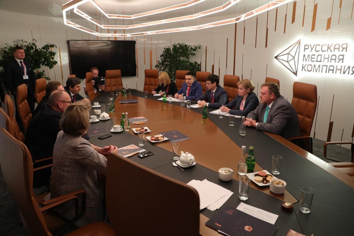 Встреча с Управляющим директором Русской медной компании Всеволодом Левиным