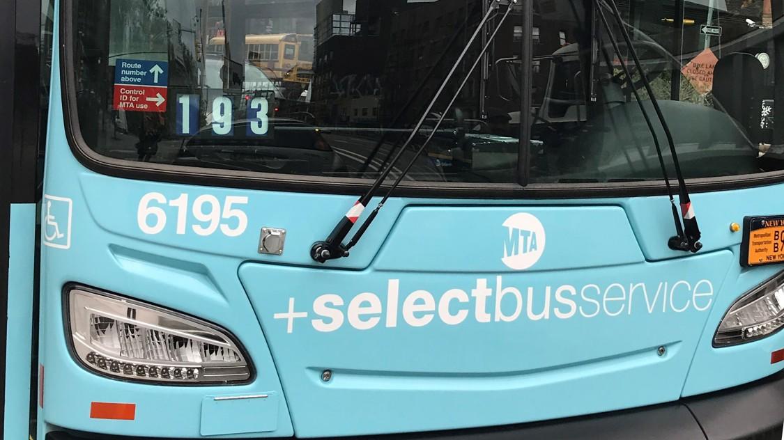 New York Select bus