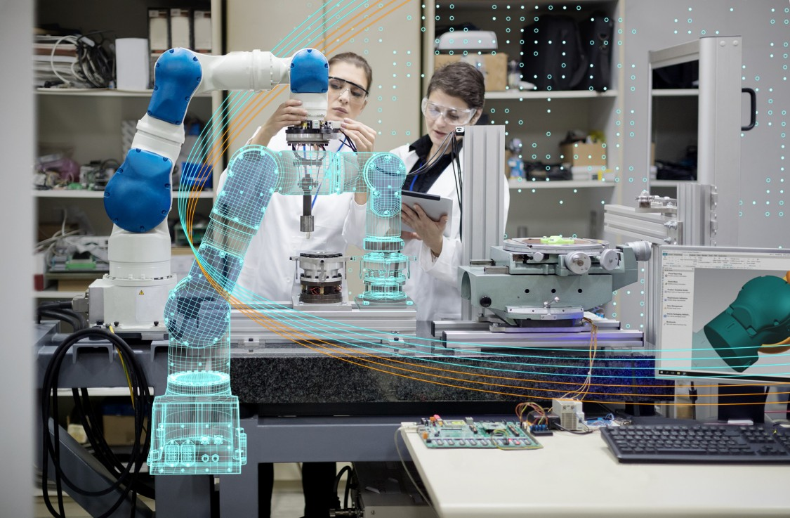 PLM-mjukvaran NX effektiviserar digitala fabriken