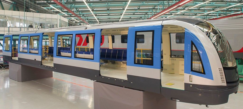 Siemens presents the first carbody for Munich's new metro trains