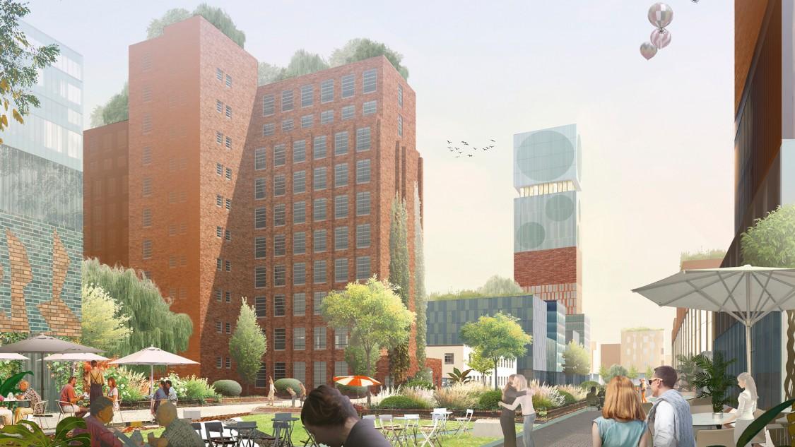 Siemensstadt 2.0 – O&O Baukunst rendering