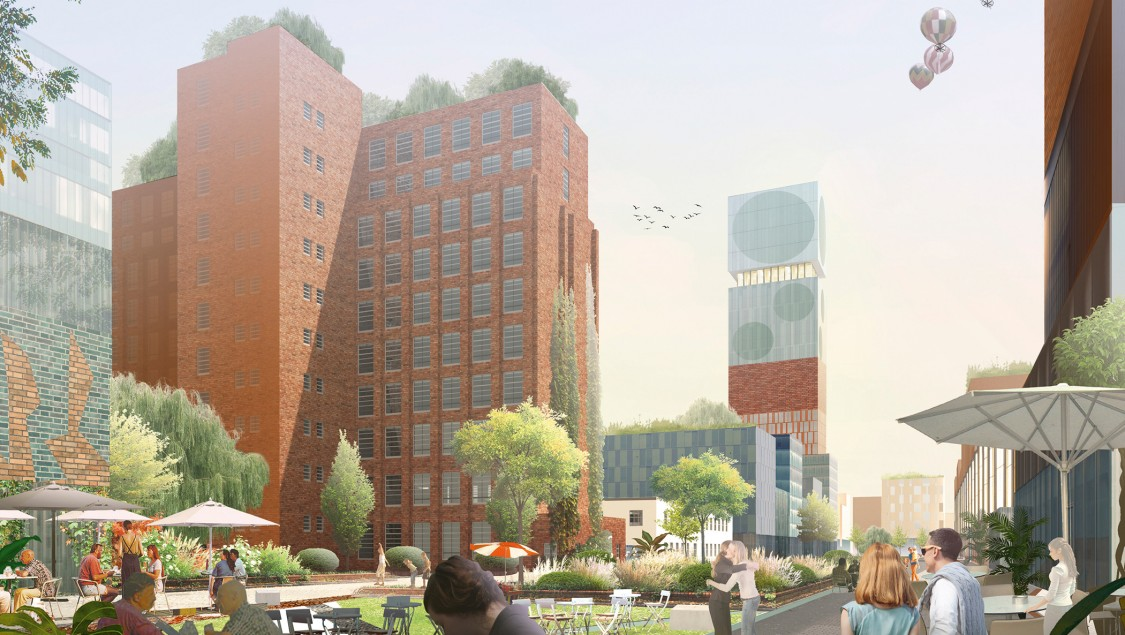 Siemensstadt 2.0: O&O Baukunst Rendering