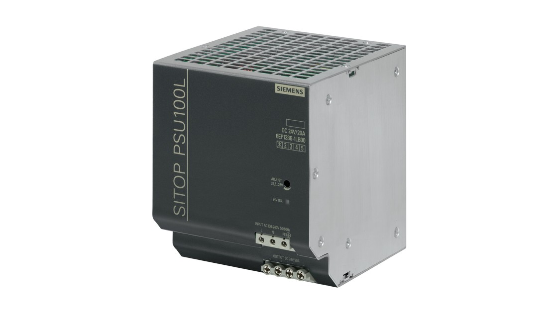 Product image SITOP PSU100L, 1-phase, DC 24 V/20 A