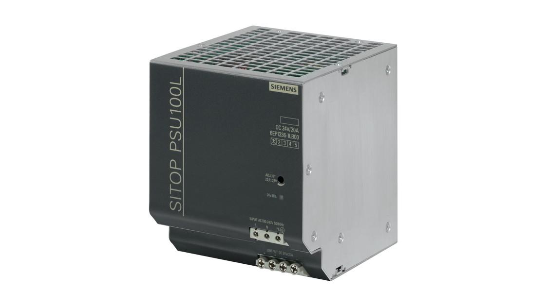 Fotografie produktu SITOP PSU100L, jednofázový, DC 24 V/20 A
