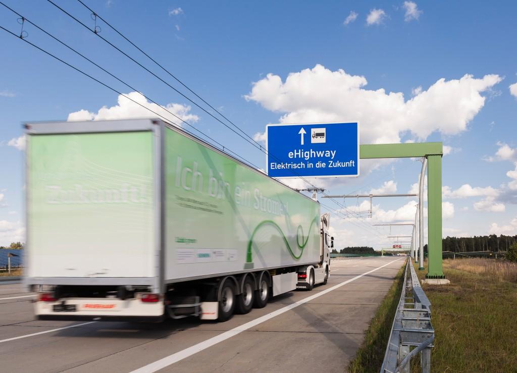 Siemens und Scania forschen gemeinsam am elektrifizierten Straßengüterverkehr