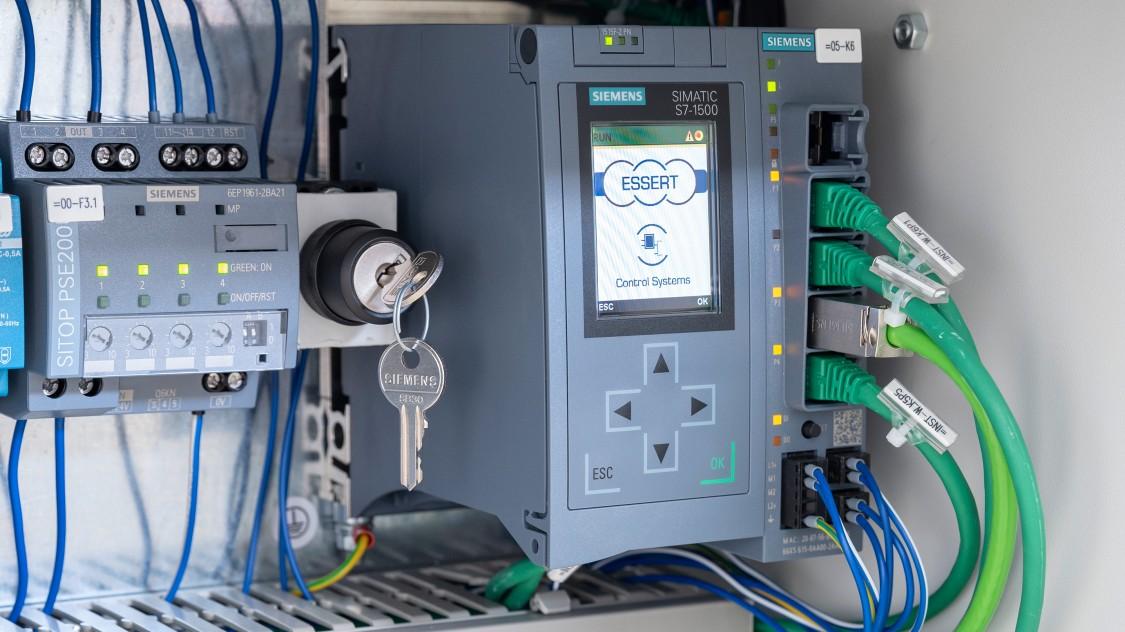 Control cabinet SIMATIC controller