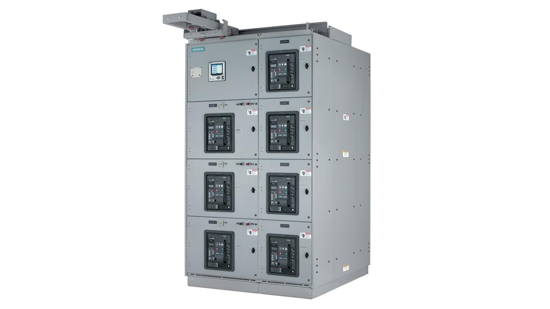 Siemens WL low-voltage arc-resistant switchgear